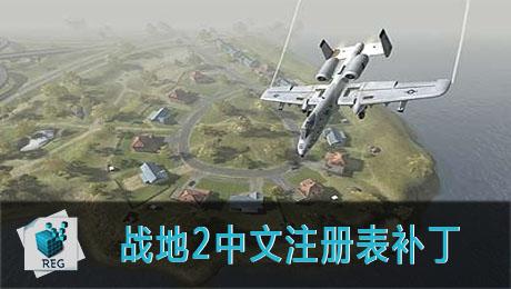 战地2中文汉化补丁注册表